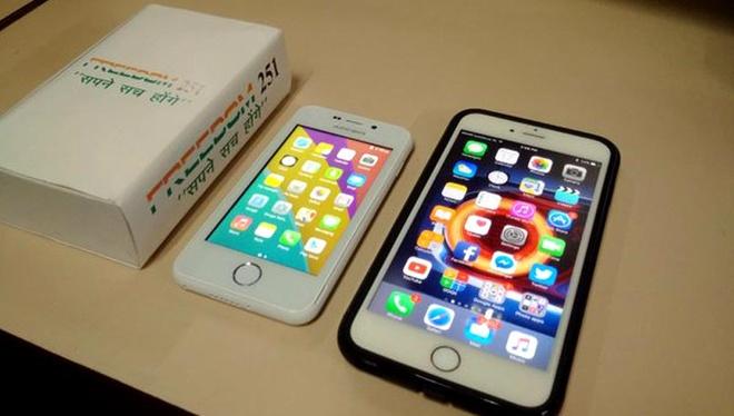 Mở hộp smartphone rẻ nhất thế giới giá 3,6 USD