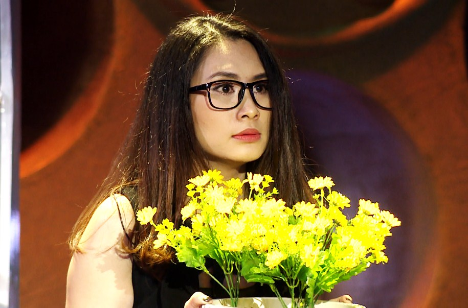 Dương Hồng Nhung khiến Việt Trinh nổi da gà với vai nhà văn biến thái tâm lý