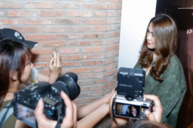 Tăng Thanh Hà bất ngờ xuất hiện tại buổi họp báo MV trở lại của Trà My Idol - Ảnh 3.