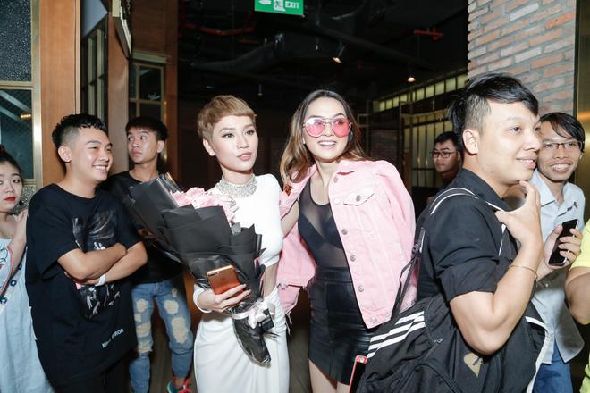 Tăng Thanh Hà bất ngờ xuất hiện tại buổi họp báo MV trở lại của Trà My Idol - Ảnh 14.