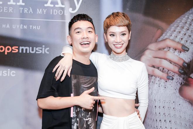 Tăng Thanh Hà bất ngờ xuất hiện tại buổi họp báo MV trở lại của Trà My Idol - Ảnh 15.