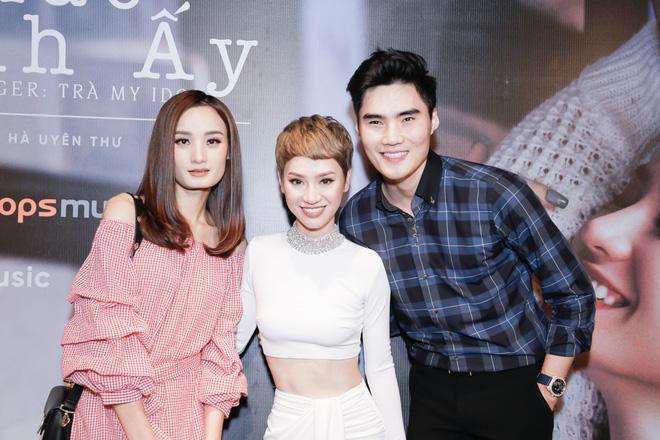 Tăng Thanh Hà bất ngờ xuất hiện tại buổi họp báo MV trở lại của Trà My Idol - Ảnh 16.