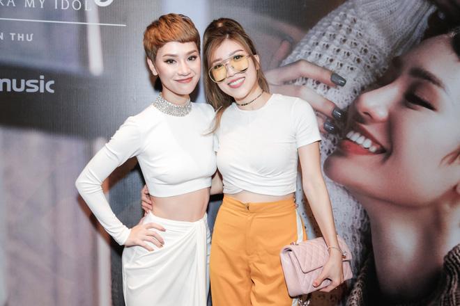 Tăng Thanh Hà bất ngờ xuất hiện tại buổi họp báo MV trở lại của Trà My Idol - Ảnh 10.