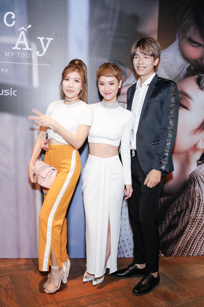 Tăng Thanh Hà bất ngờ xuất hiện tại buổi họp báo MV trở lại của Trà My Idol - Ảnh 11.