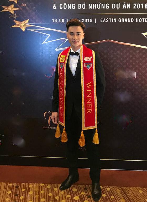 Giải vàng Siêu mẫu Việt Nam 2015 Mai Tuấn Anh.