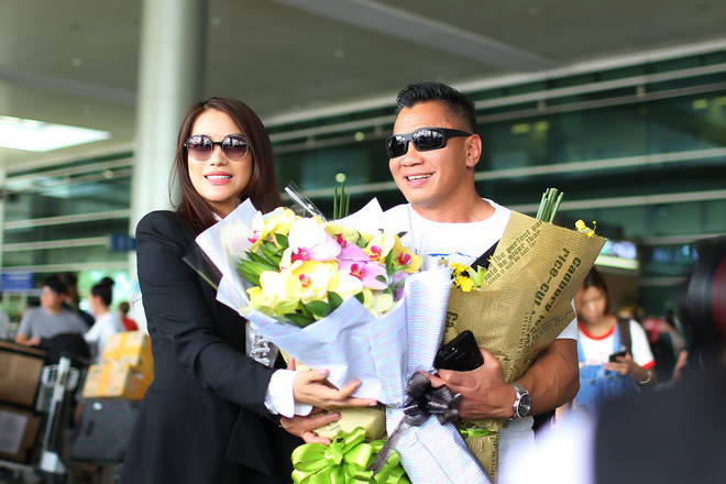 Trương Ngọc Ánh ra sân bay đón ngôi sao võ thuật gốc Việt nổi tiếng thế giới - Ảnh 3.
