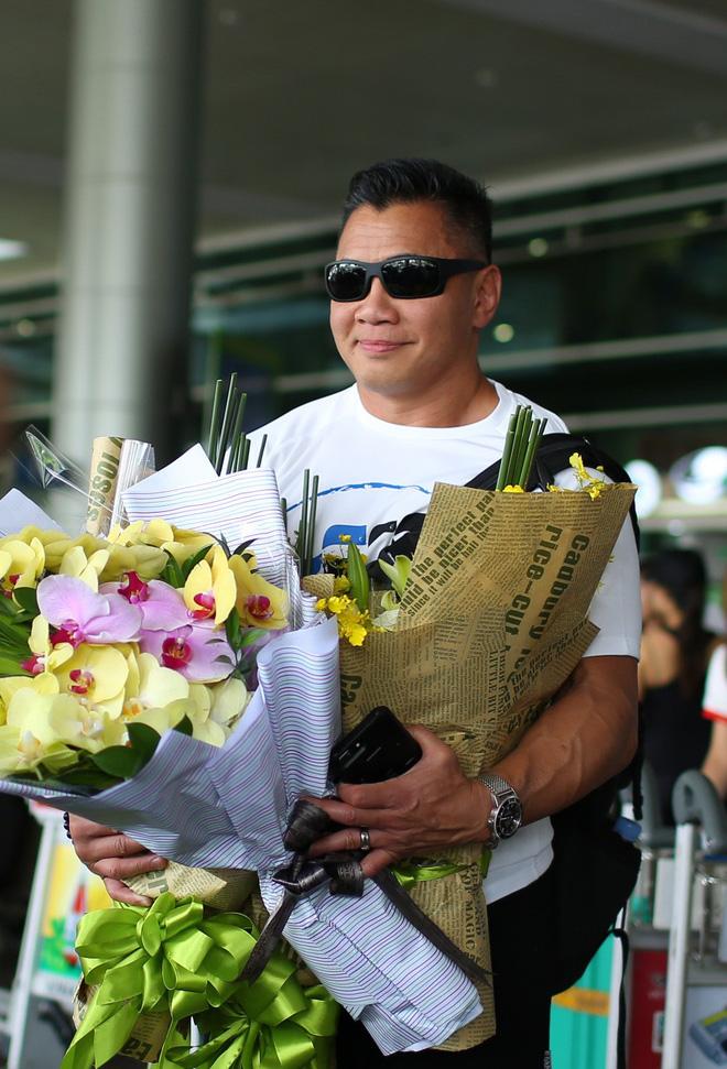 Trương Ngọc Ánh ra sân bay đón ngôi sao võ thuật gốc Việt nổi tiếng thế giới - Ảnh 1.