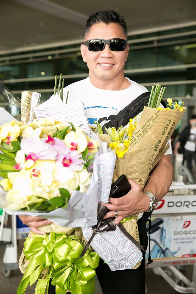 Trương Ngọc Ánh ra sân bay đón ngôi sao võ thuật gốc Việt nổi tiếng thế giới - Ảnh 2.