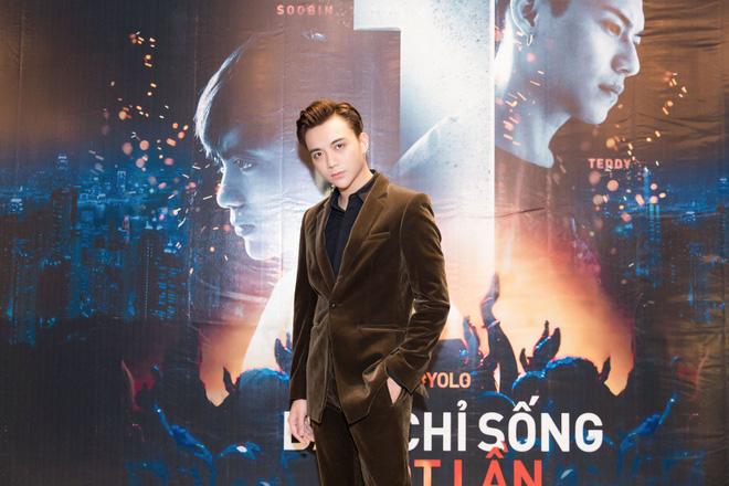 Soobin Hoàng Sơn bảnh bao trong buổi ra mắt phim điện ảnh đầu tay - Ảnh 2.