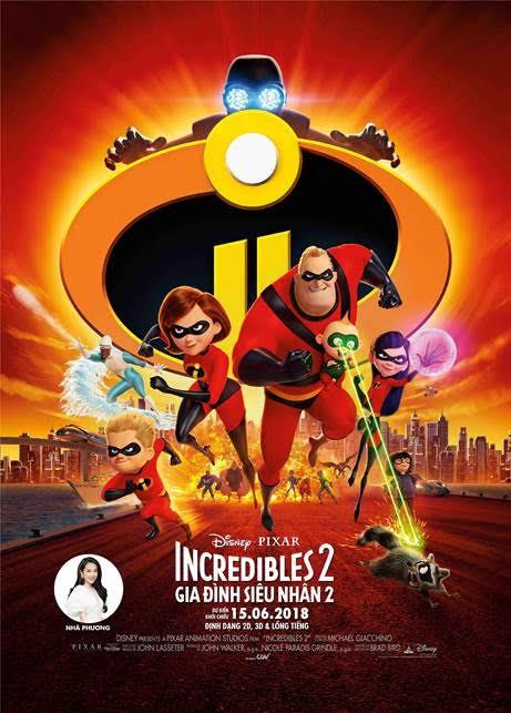 """Nhã Phương lần đầu tiên trổ tài lồng tiếng trong phim bom tấn hoạt hình """"Gia đình siêu nhân 2"""" - Ảnh 3."""