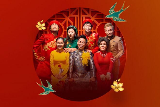 Hoài Tâm khiến khán giả phấn khích khi tham gia sản phẩm của Việt Hương /// Ảnh: NVCC